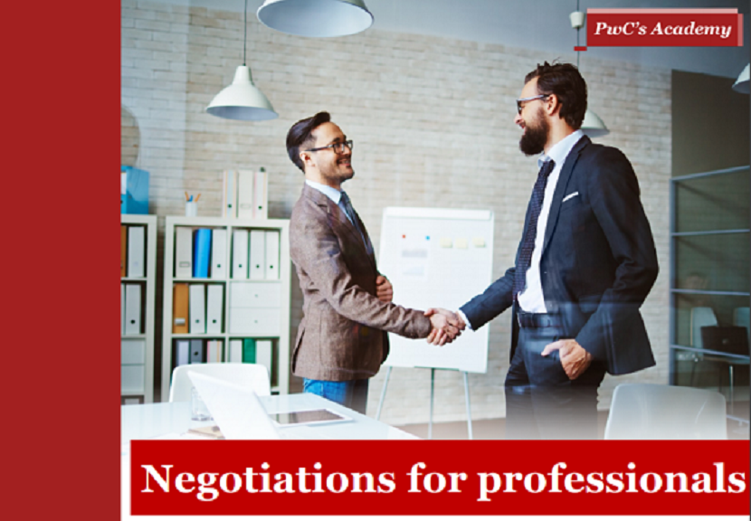 PwC's Academy Negotiations for Professionals Тraining