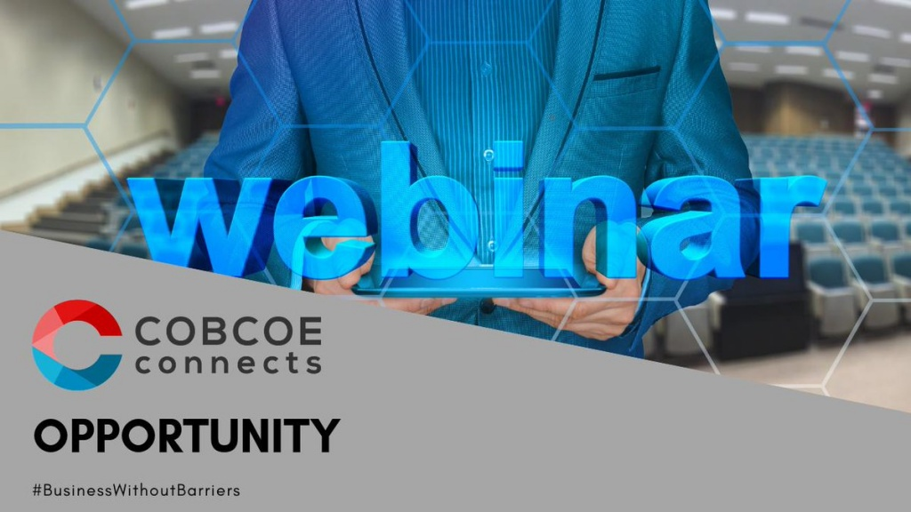 COBCOE Connects Training Webinar
