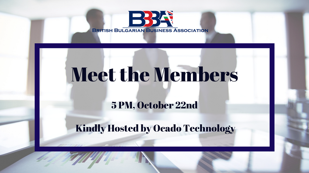 BBBA Meet the Members October
