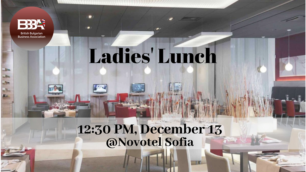 Ladies' Lunch with Special Guest Lora Arnaoudova