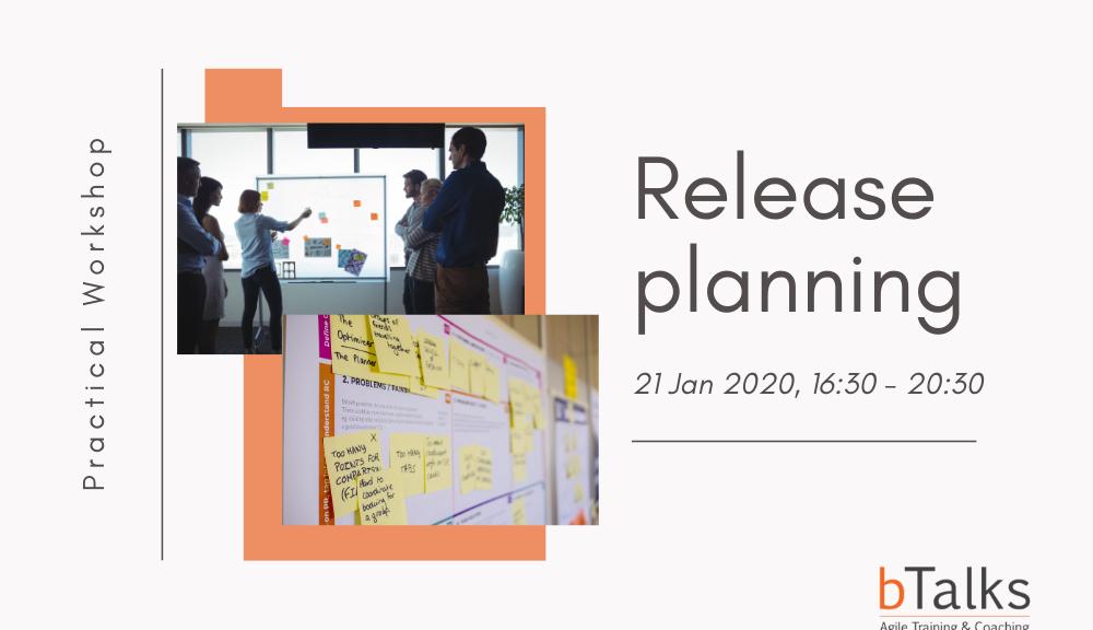 Release planning workshop by b Talks Agile