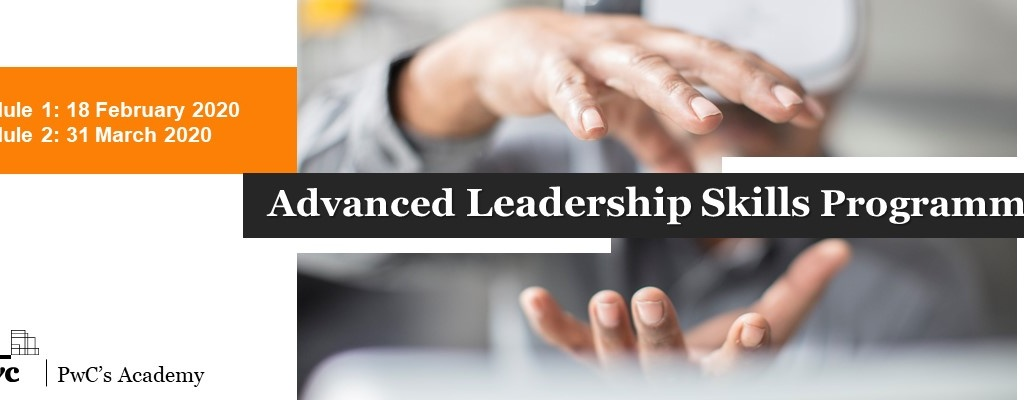 PwC's Academy invites you join the Advanced Leadership Skills  Programme.