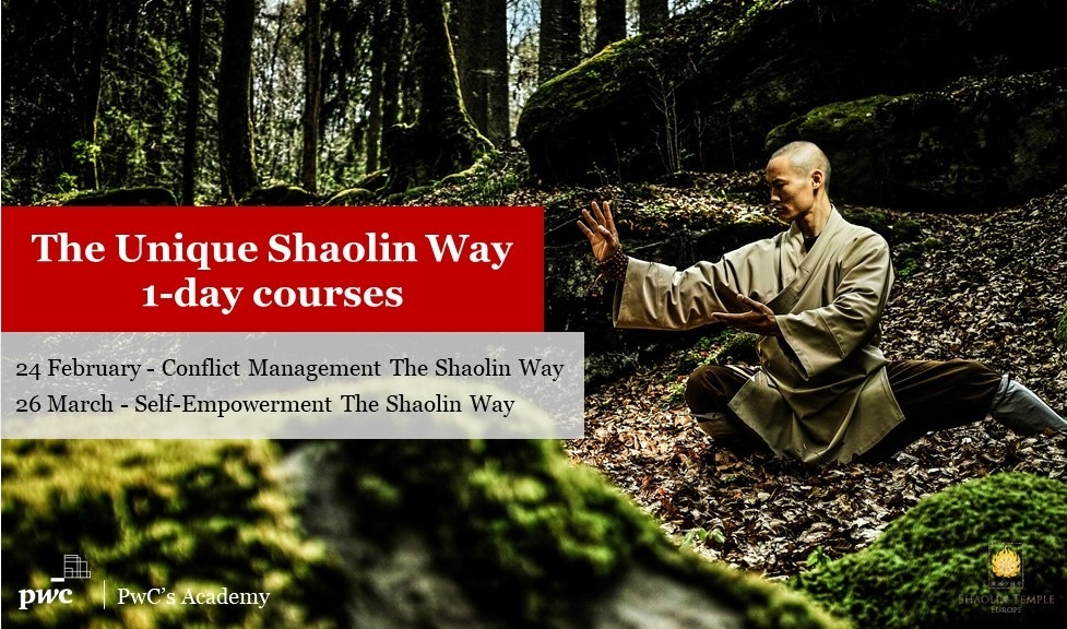 PwC - The Shaolin Way 1 day courses.