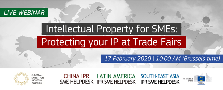Intellectual Property SMEs: protecting your IP at Trade Fairs