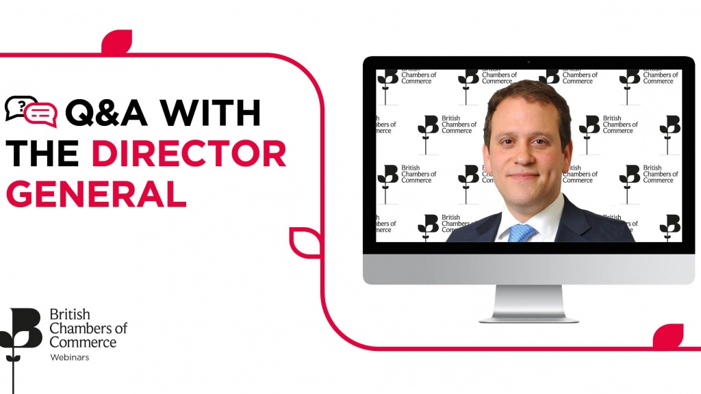 Q&A Webinar with the Director General of BCC