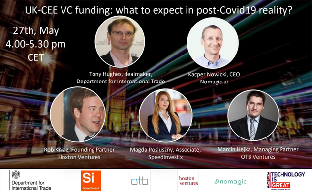 DIT Bucharest: UK – CEE VC Fundraising: What to Expect in Post-COVID19 Reality?