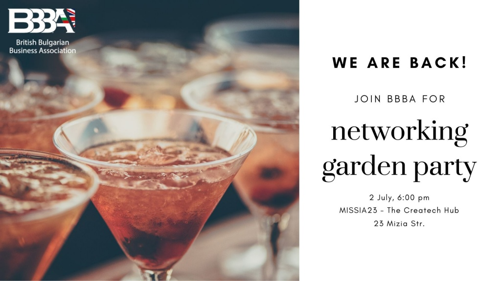 LIVE EVENT: BBBA Networking Garden Party