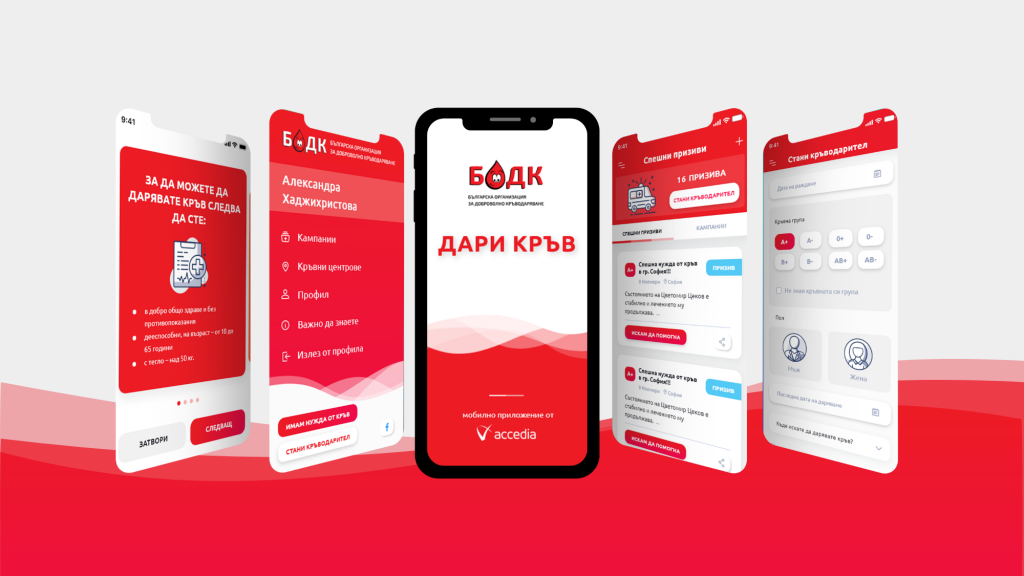 Accedia: Launching an App in Support of Voluntary Blood Donation
