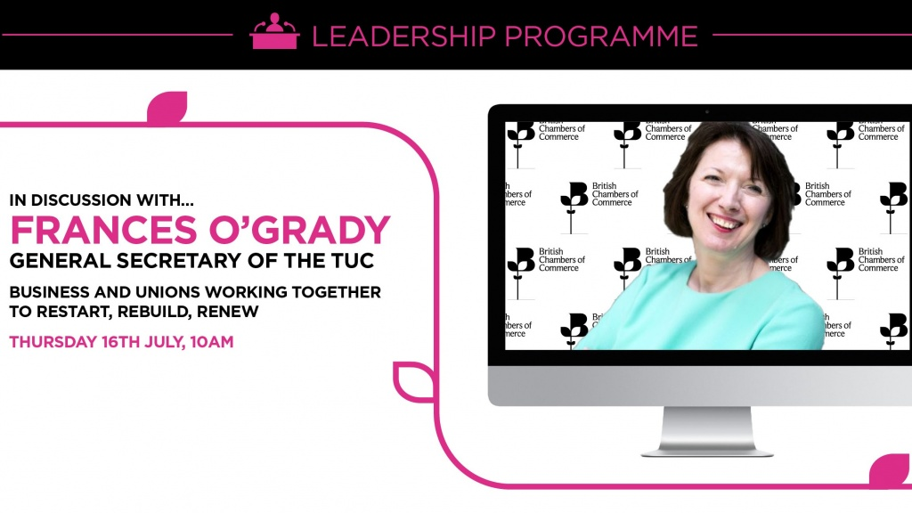 BCC Discussion with Frances O'Grady