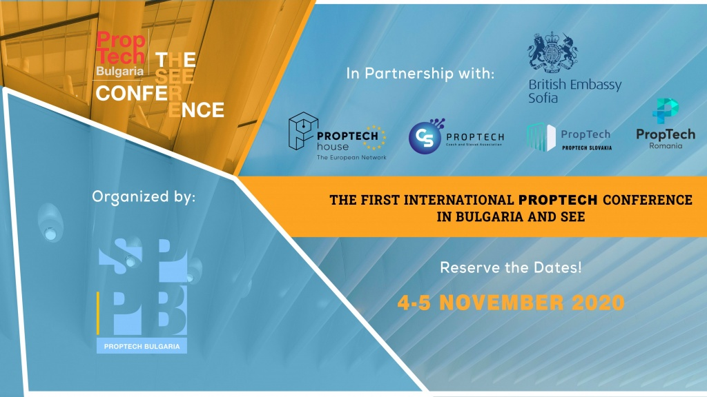 PropTech Bulgaria organises the 1st International PropTech Conference in South-East Europe and Bulgaria