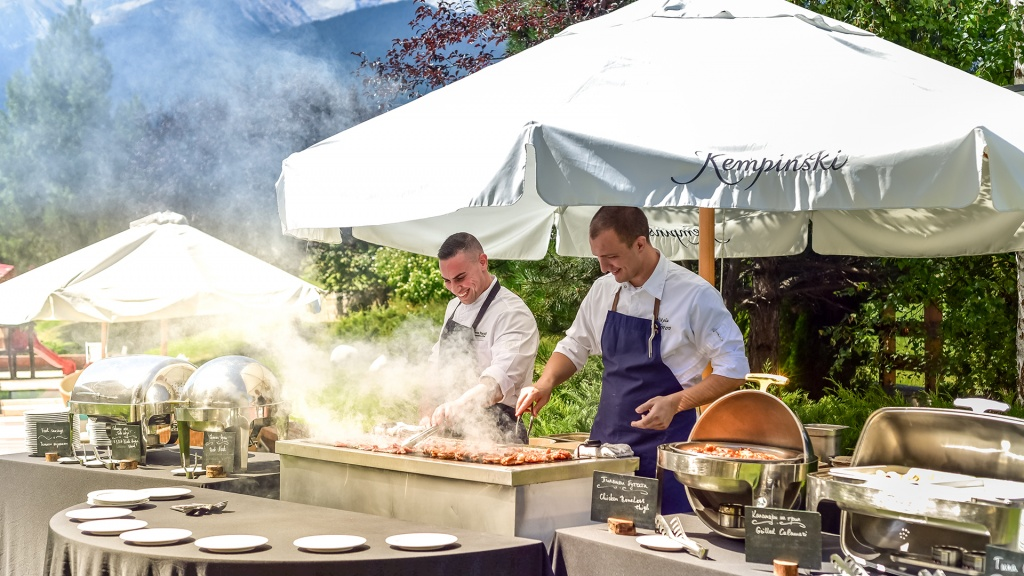 Special Barbecue Package at Kempinski Hotel Grand Arena Bansko