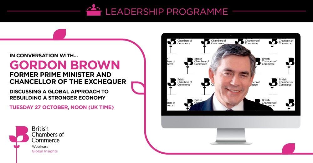 Gordon Brown Webinar: Marketing Toolkit Enclosed