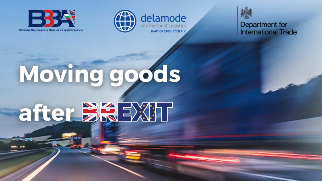 WEBINAR: Moving Goods After Brexit