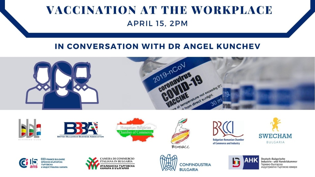 In conversation with Dr. Angel Kunchev: Vaccination at the Workplace