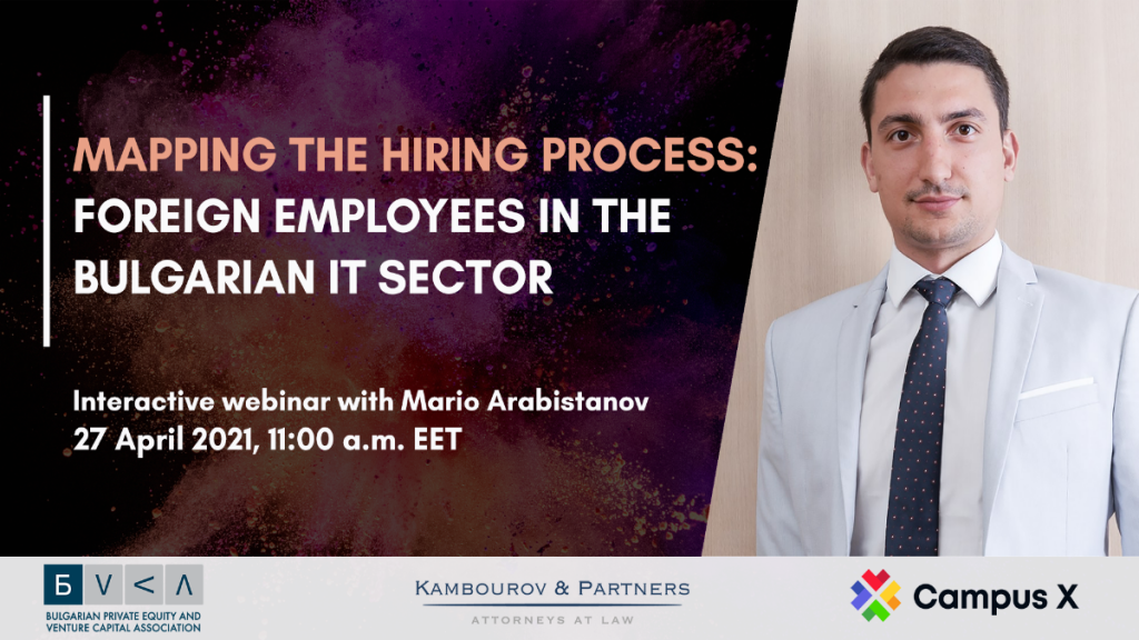 Webinar: Mapping the Hiring Progress: Foreign Employees in the Bulgarian IT Sector
