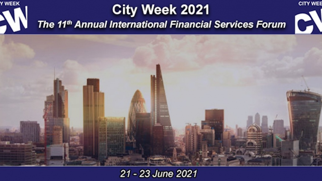 City Week 2021: Financing A Sustainable Global Recovery