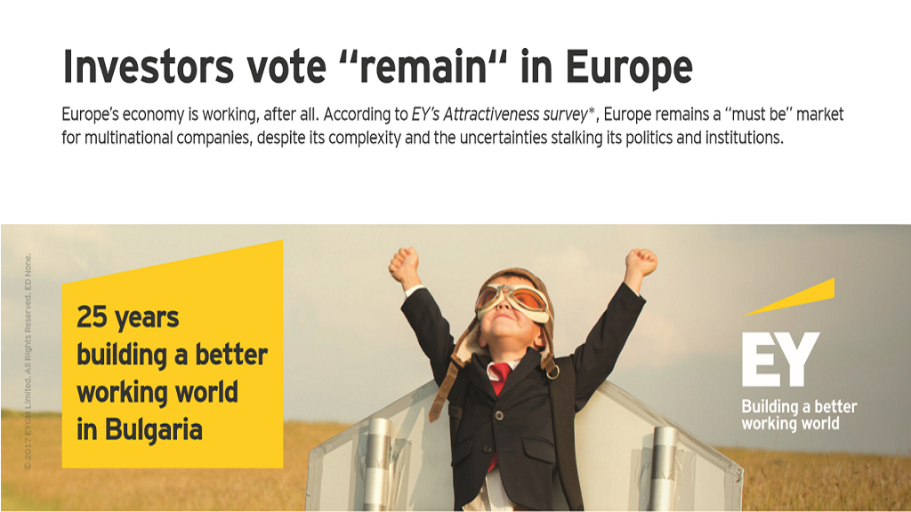 Record Foreign Direct Investment in Europe Sparks Job Creation Boom - EY European Attractiveness Survey