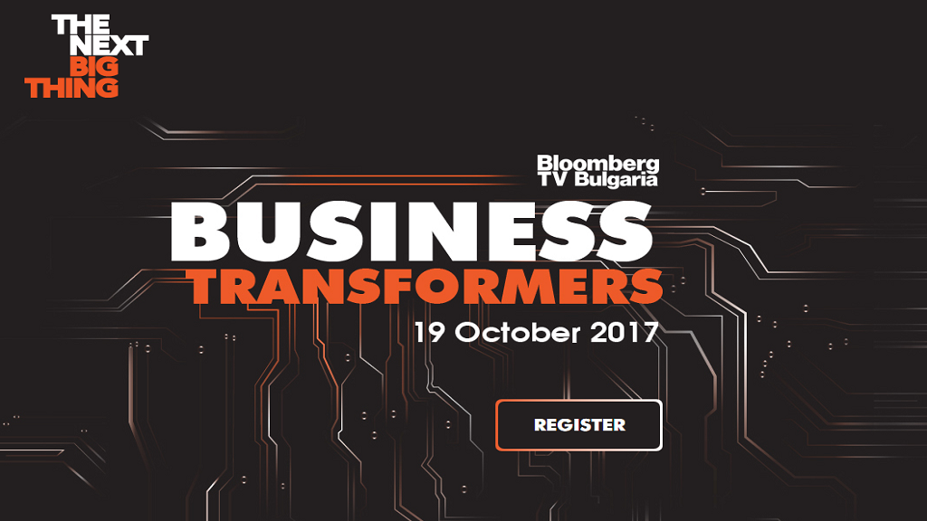 The Next Big Thing: Business Transformers Bloomberg Conference