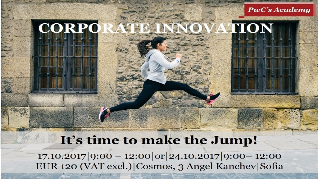 Corporate Innovation -  It's time to make the Jump!