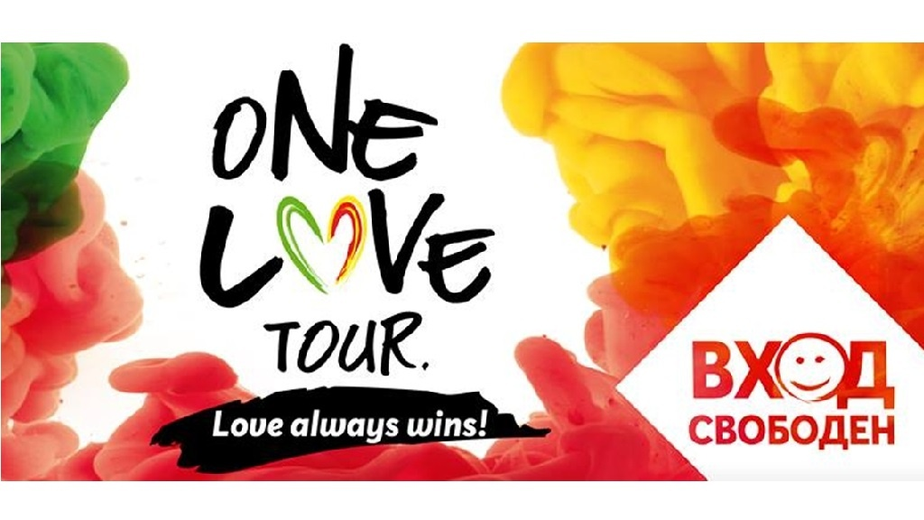 Dive into the spirit of One Love Tour 2018 Bansko