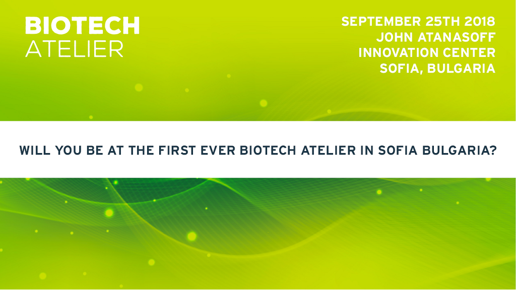 BioTech Atelier 2018 Invitation