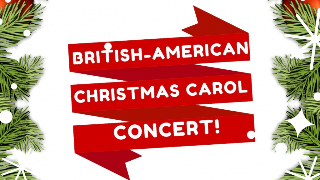British American joint Christmas Carol Concert